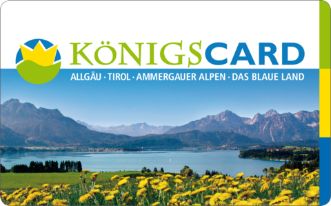 "Allgäu Holiday  with the ""KönigsCard"""