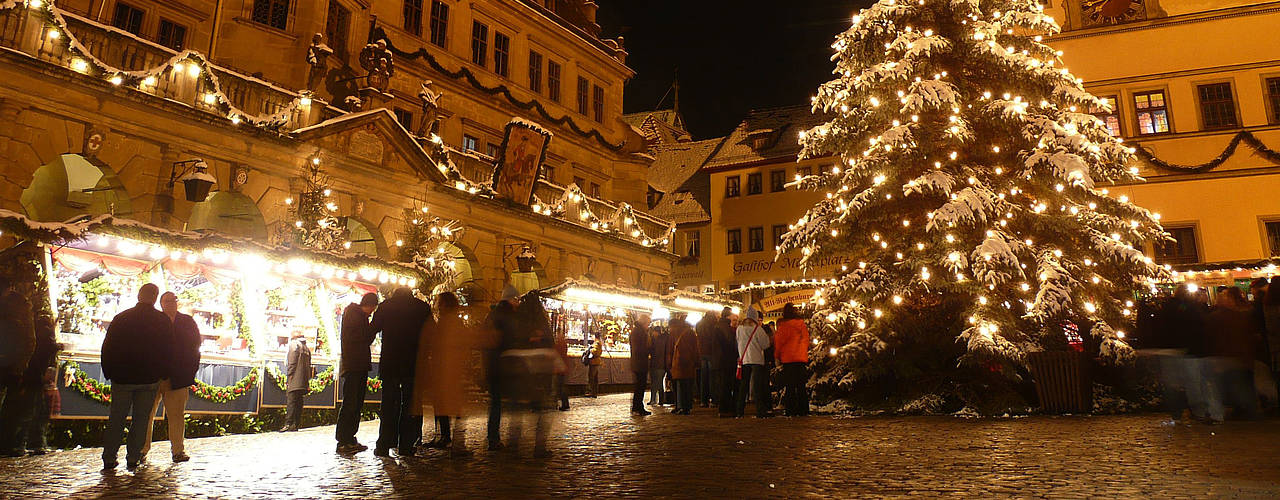 Christmas market in Rothenburg