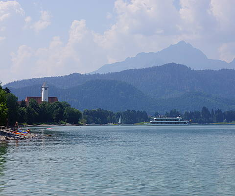 One of the stops of your trip: Schwangau-Waltenhofen