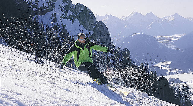 Wintersports in Schwangau