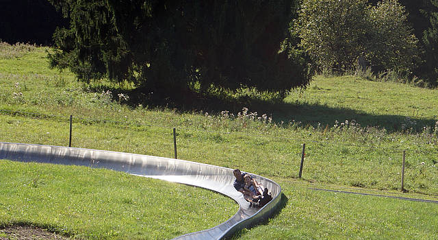 Fun on the summer luge in Schwangau